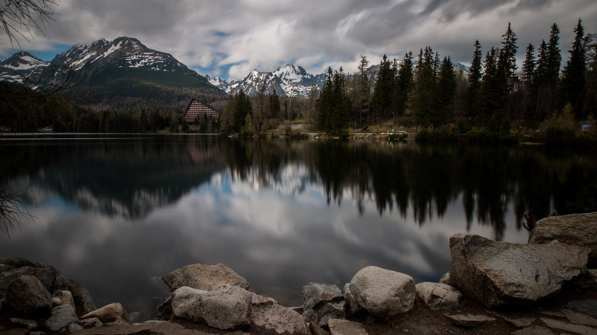 Jezioro w Tatrach