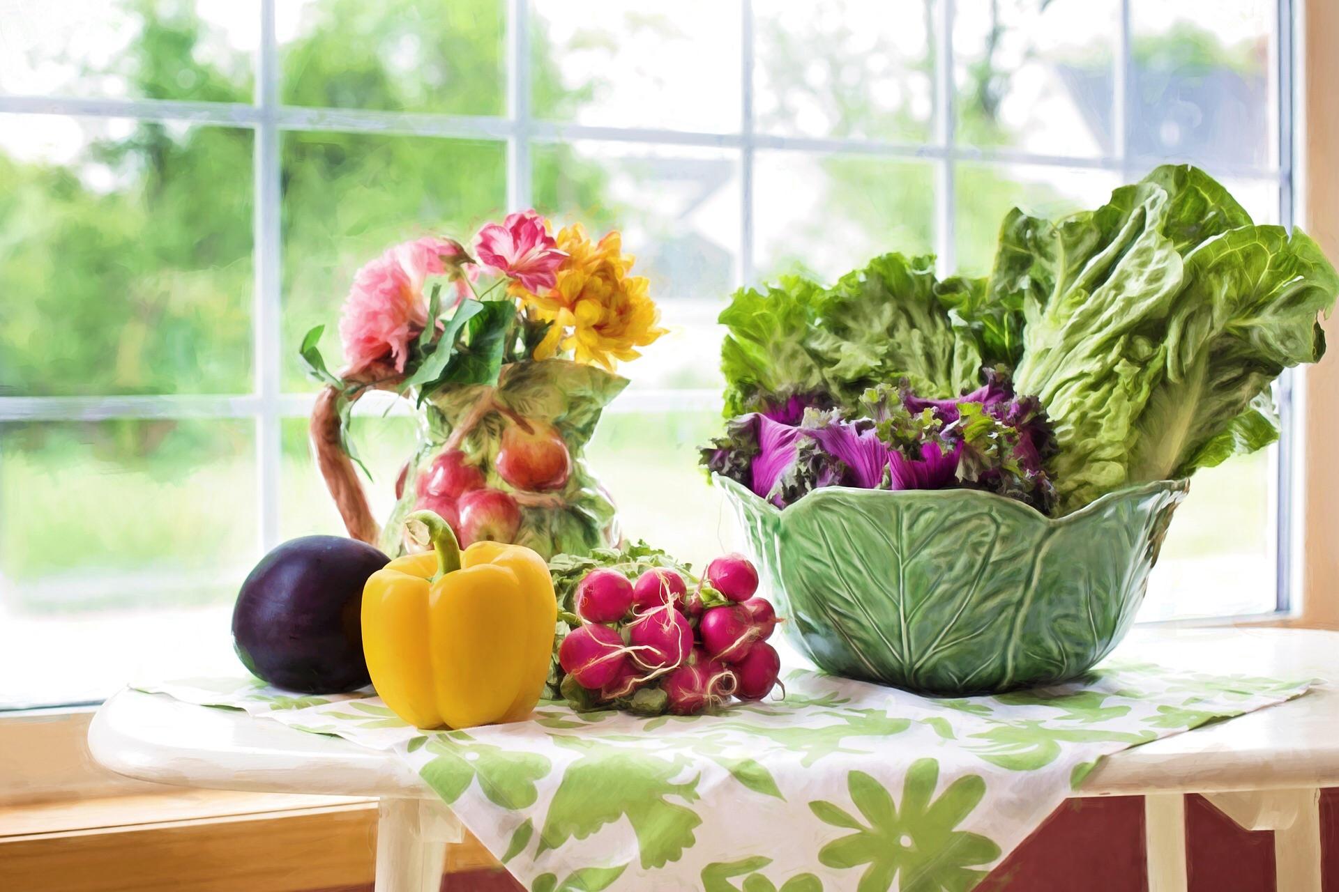 warzywa w zdrowej diecie
