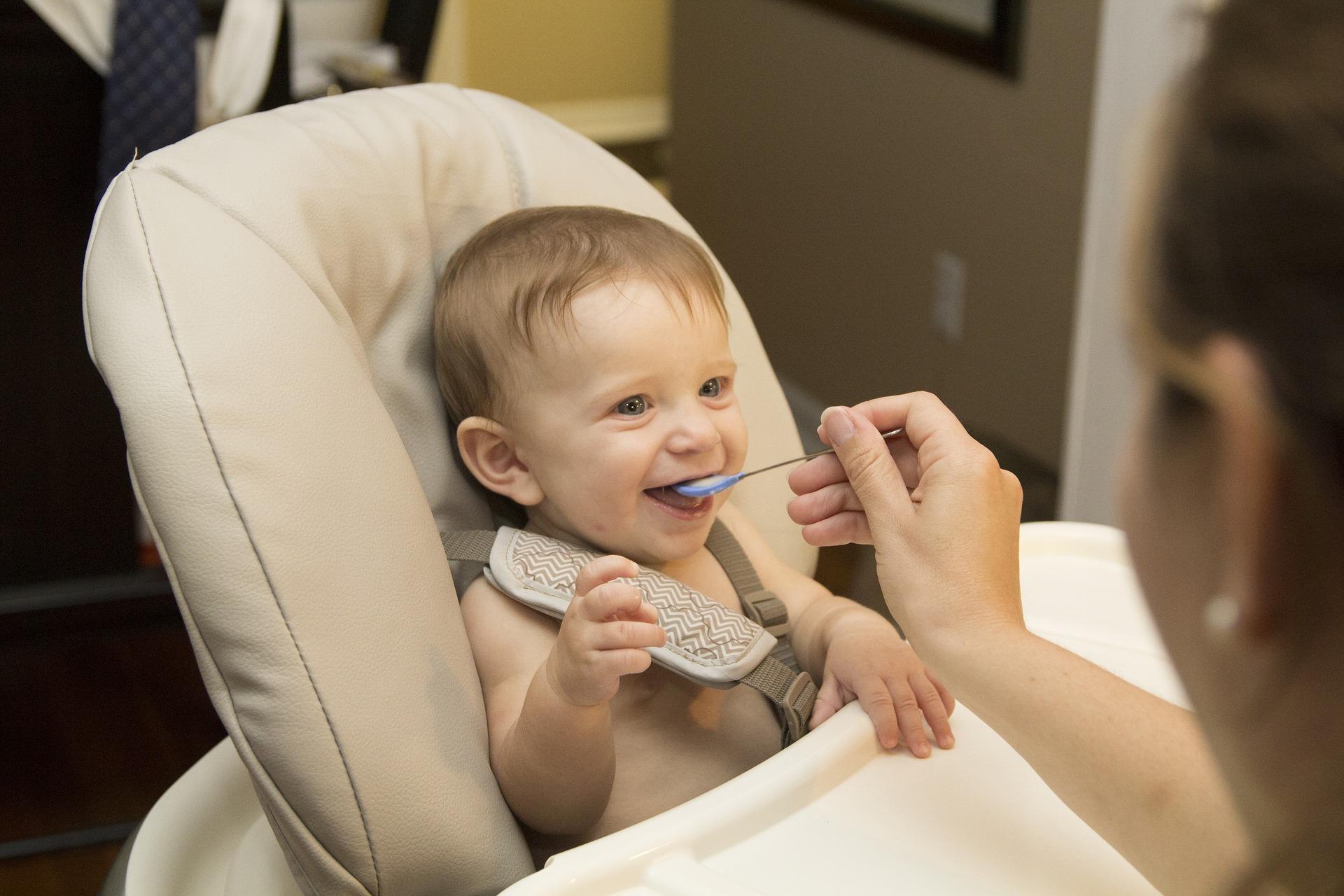 karmienie dziecka - domowe dania dla niemowlaków
